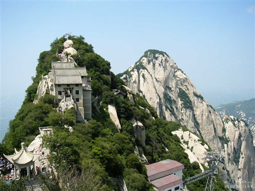 渭南市台播报空中华山