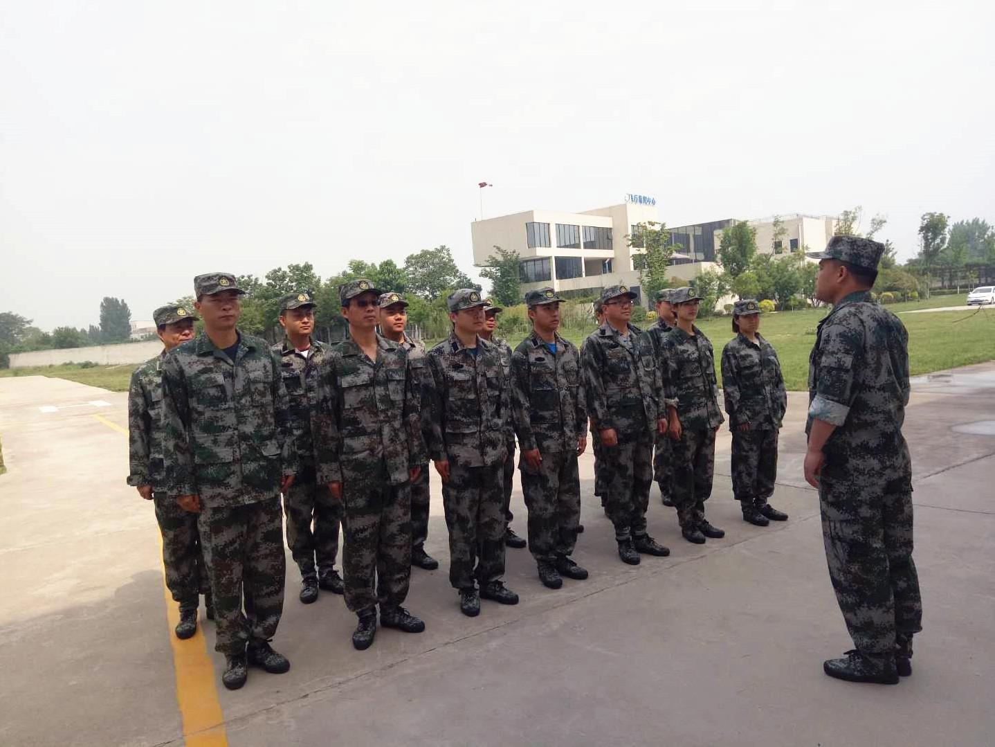 预备役空中应急分队常态化训练